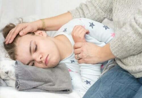 Et barn med epilepsi