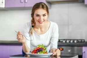 Sunne og lette middager for å gå ned i vekt
