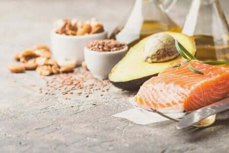 Matvarer med omega 3