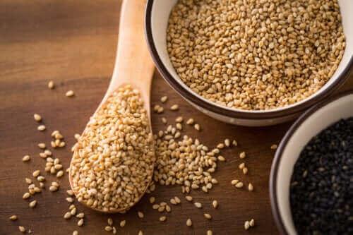 Matvarer som inneholder linolsyre