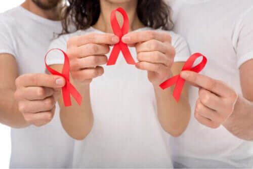 Symptomene på humant immunsviktvirus (hiv)
