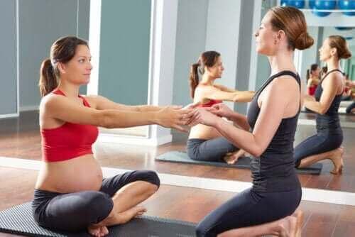 De beste treningsøvelsene for gravide kvinner
