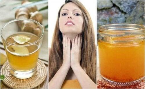 5 urteteer å drikke hvis du lider av hypotyreose