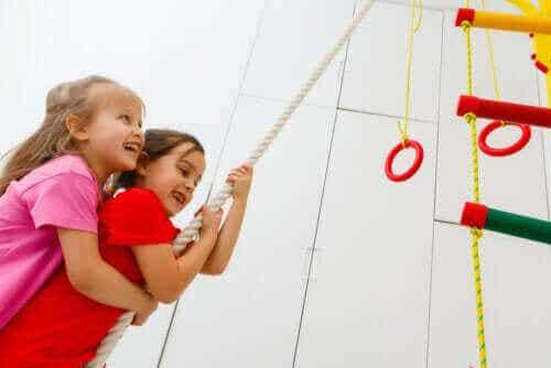Oppdag fordelene med Crossfit-øvelser for barn