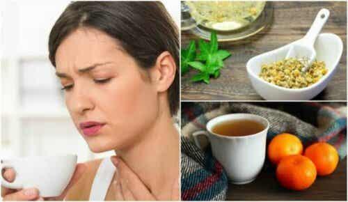 Te med mandarinskall, legevendelrot og kamille for å roe nervene dine