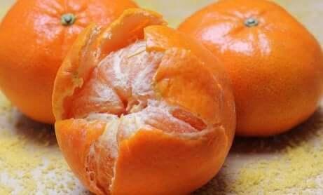 Te med mandarinskall
