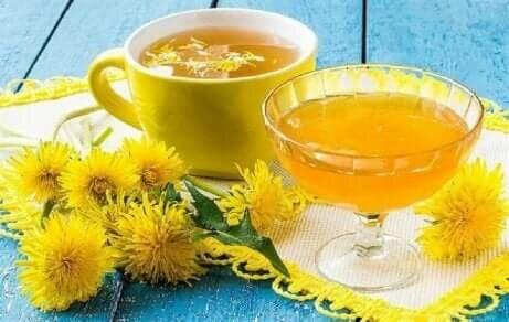 To kopper te av løvetann