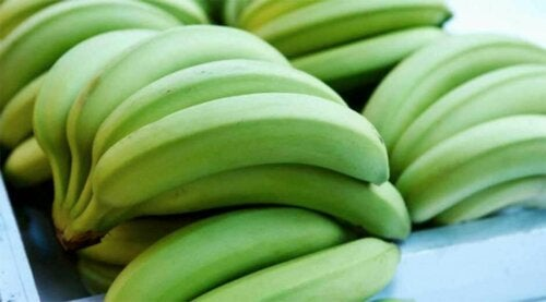 Bananer påvirker fordøyelsen.