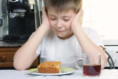 Barn som ikke vil spise.