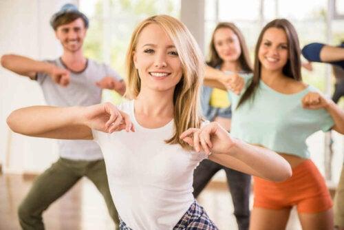 Dans vil øke lykkefølelsen.