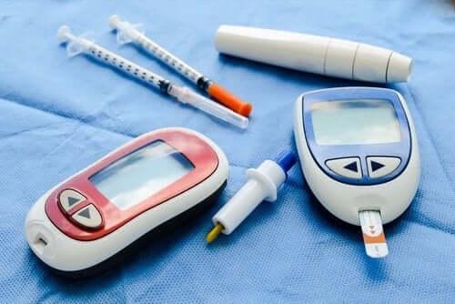 Diagnose av sykdommen diabetes.