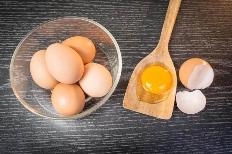 egg i en bolle