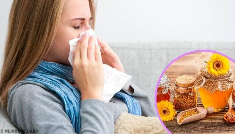 Ta propolis ved de første symptomene på forkjølelse og influensa