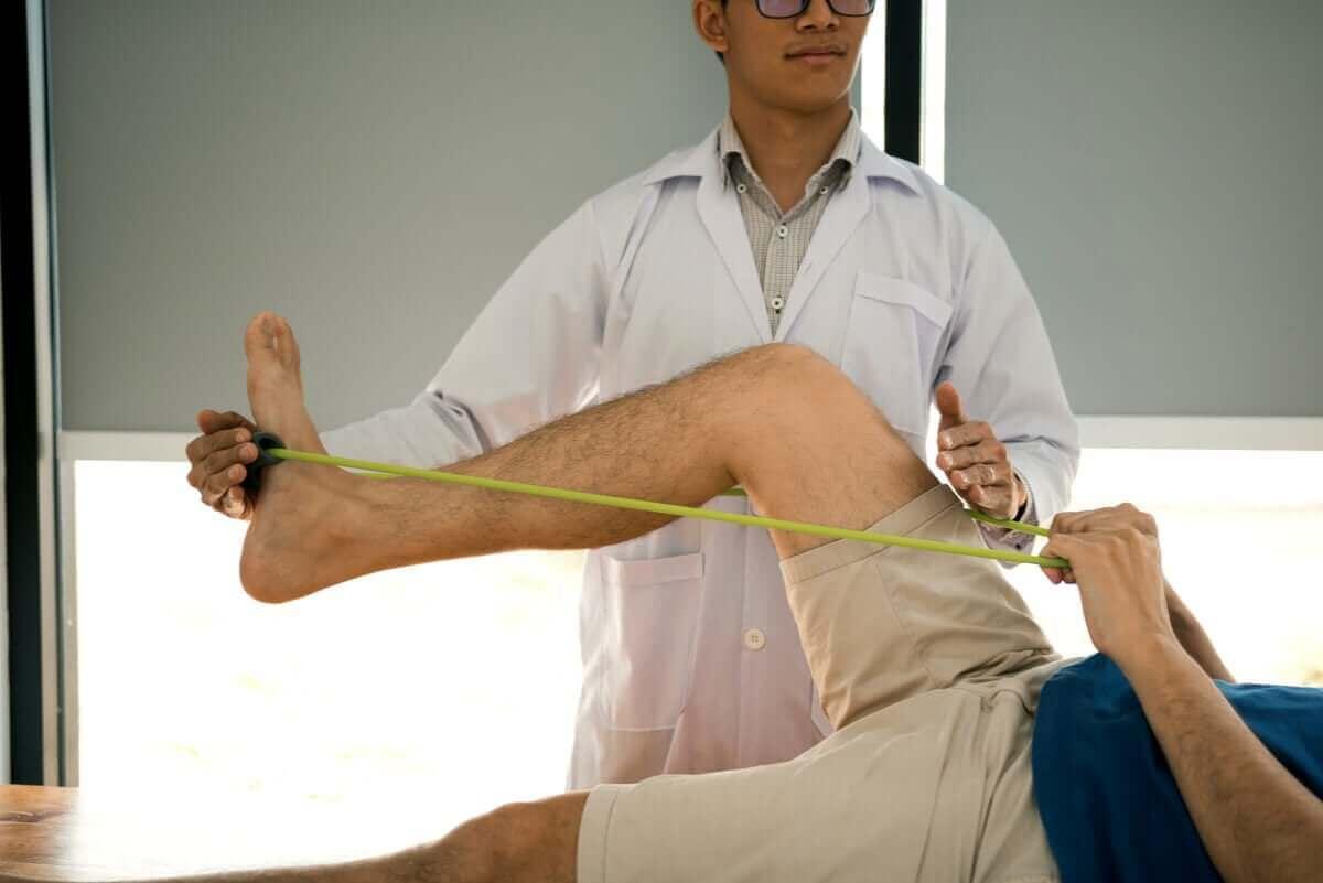 Rehabilitering med strikk