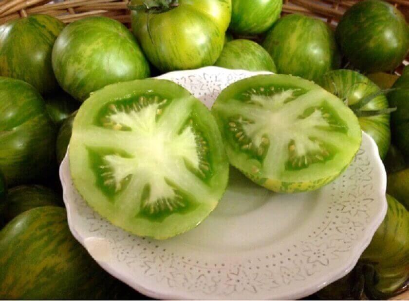 Grønn tomat og natron
