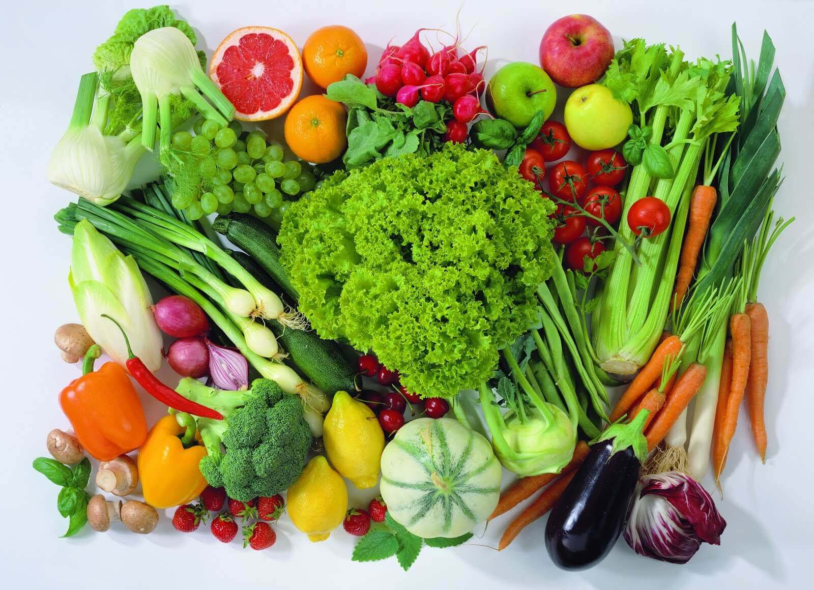 alle slags grønnsaker