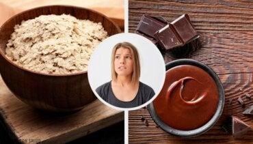 11 typer mat og drikke for nervøse mennesker