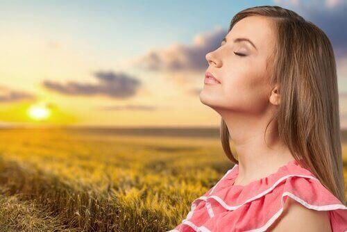 Sol for å bekjempe søvnløshet.