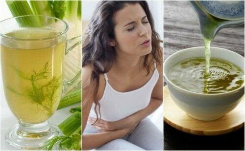 5 plantebaserte teer for å bekjempe fordøyelsesbesvær