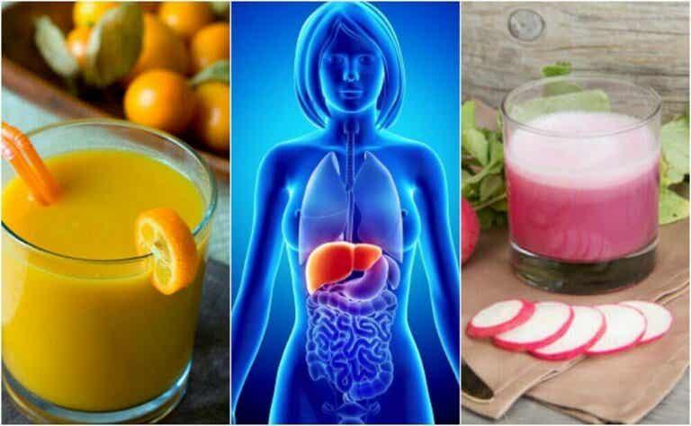 Unngå fettlever med 5 sunne drikker