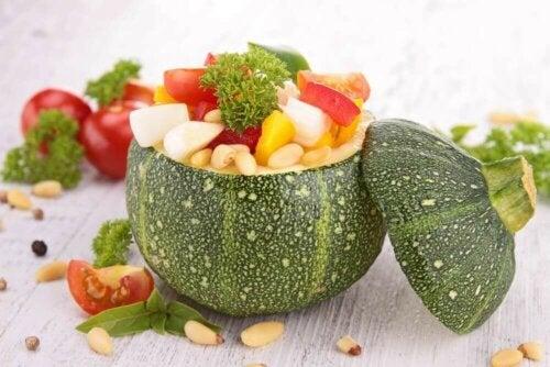 Vegetarisk diett.