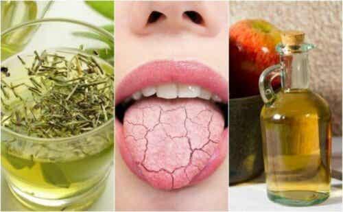 5 hjemmelagde remedier for å lindre tørr munn