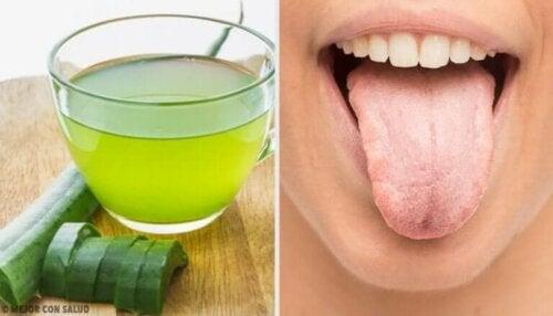 7 naturlige remedier for å forhindre en hvit tunge
