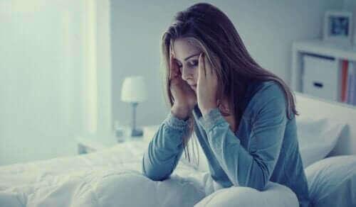 Angst om natten: symptomer, årsaker og behandling