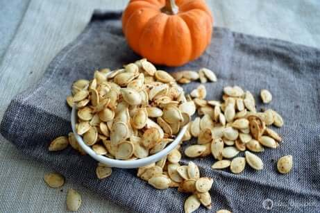 Gresskarfrø kan brukes i smoothie for å øke proteininntaket ditt