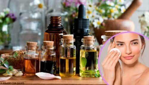 Hjemmelaget sminkefjerner for sensitiv hud