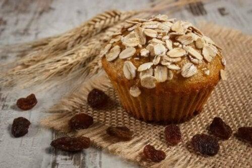 Næringsrike, glutenfrie og laktosefrie havremuffins
