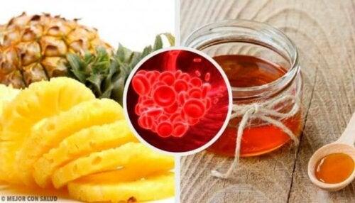 Planter og matvarer som forhindrer blodpropp