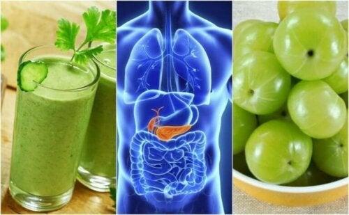 Rens bukspyttkjertelen med disse 5 naturlige remediene