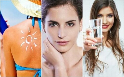 Seks vaner for å forhindre for tidlig aldring av huden din