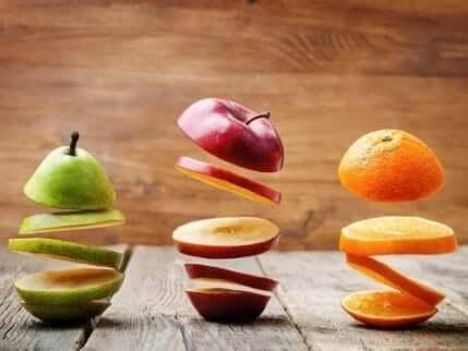 Skiver av frukt som forhindrer kreft