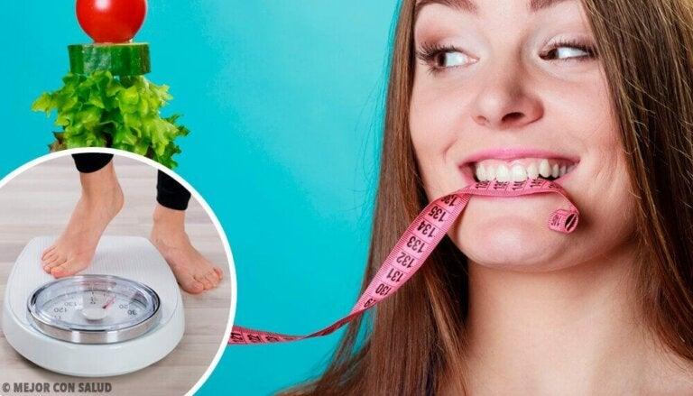 Hvor mange måltider bør du spise for å gå ned i vekt?