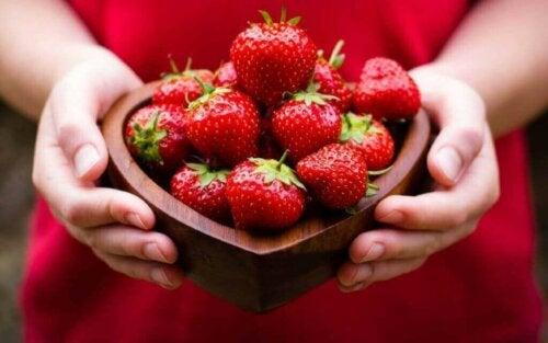 Jordbær.