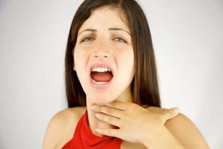 Kvinne med dysfoni