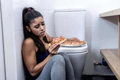 De forskjellige typene av sykdommen bulimi