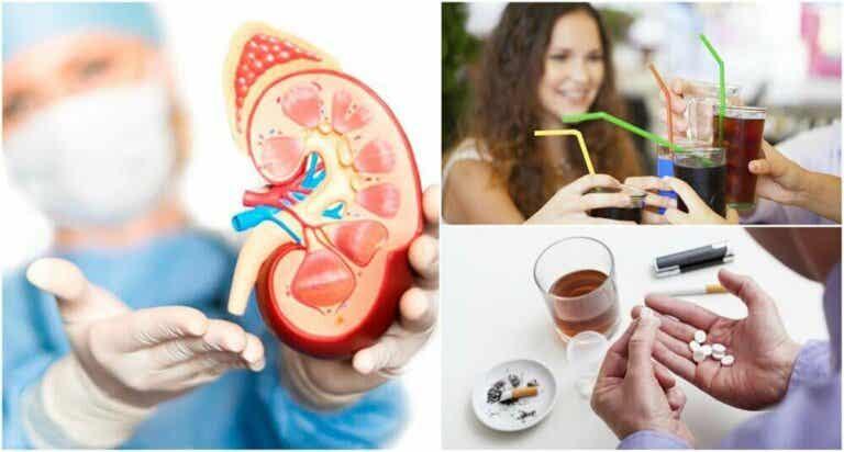 8 dårlige vaner som fører til nedsatt nyrefunksjon