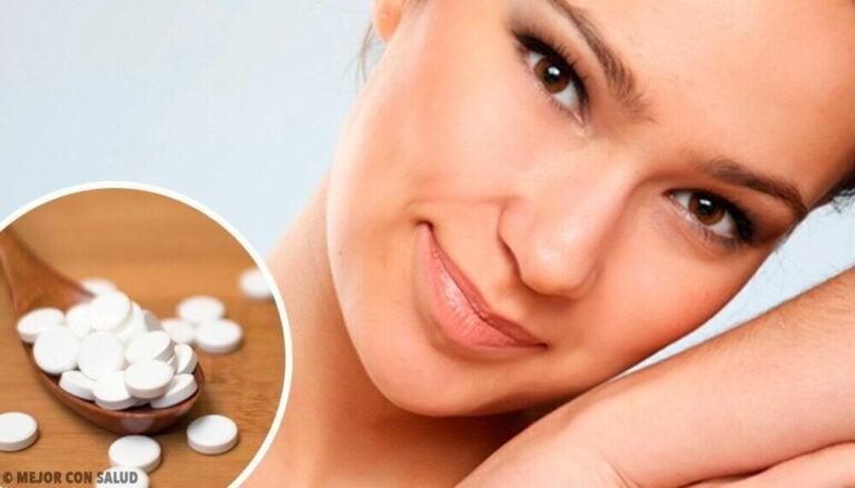 4 ansiktsmasker med aspirin for perfekt hud
