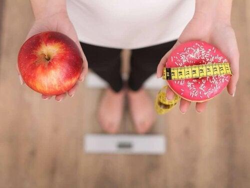 Riktig mat for å gå ned i vekt