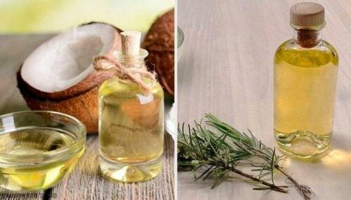 Slankende og nærende oljelotion med kokos-, grapefrukt- og rosmarinolje