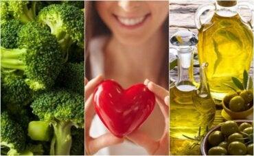 7 matvarer for kvinner som er sunne for hjertet