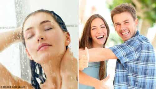 10 endringer som skjer hvis du begynner å dusje med kaldt vann