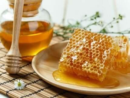 Honning er et godt alternativ til sukker