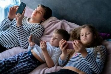 Overdreven eksponering for skjermer hos barn