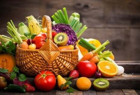 Spis et balansert kosthold