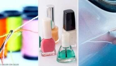 9 alternative måter å bruke neglelakk på
