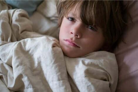 Barn lider av søvnløshet